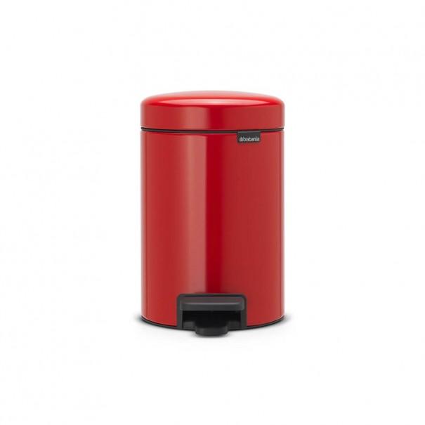 Brabantia Κάδος πεντάλ passion red 3 lt σειρά New icon