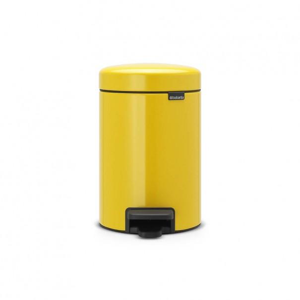 Brabantia Κάδος πεντάλ daisy yellow 3 lt σειρά New icon