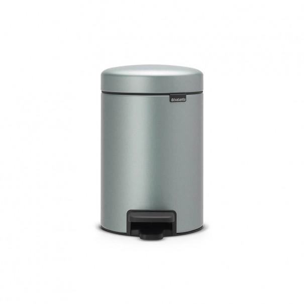 Brabantia Κάδος πεντάλ metallic mint 3 lt σειρά New icon