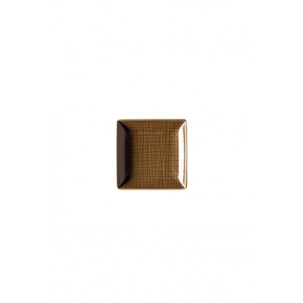 Rosenthal Μπολ τετράγωνο 10x10 cm σειρά Mesh walnut