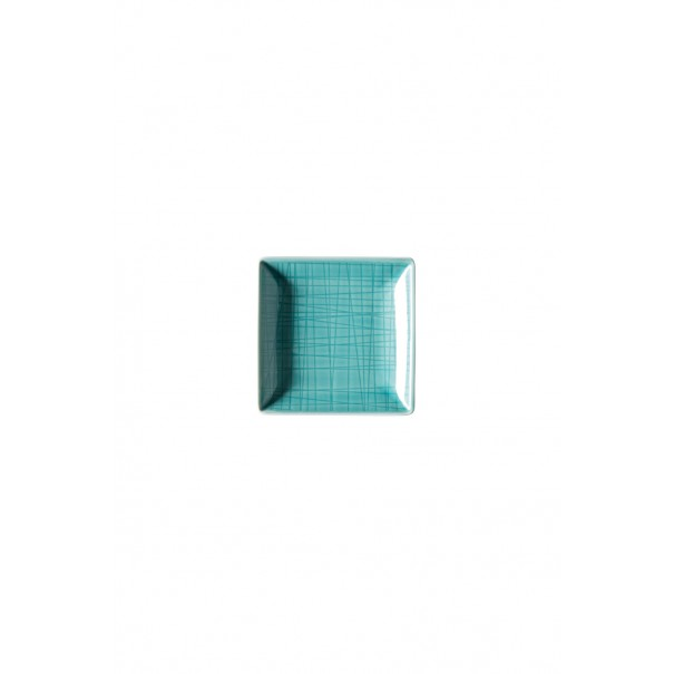 Rosenthal Μπολ τετράγωνο 10x10 cm σειρά Mesh aqua