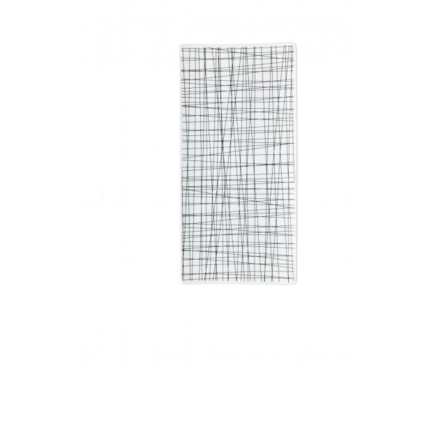 Rosenthal Πιατέλα 26x13 cm σειρά Mesh line forest