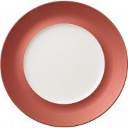 Villeroy & Boch Πιάτο ρηχό με rim 29x18(εσωτερικό) cm σειρά Copper Glow
