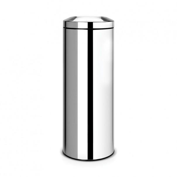 Brabantia Κάδος για χαρτιά brilliant steel 20 lt