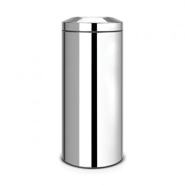 Brabantia Κάδος για χαρτιά brilliant steel 30 lt