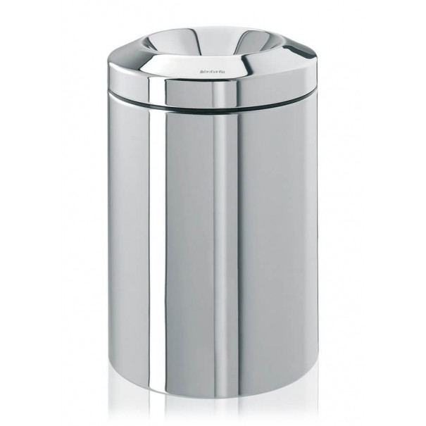 Brabantia Κάδος για χαρτιά brilliant steel 15 lt