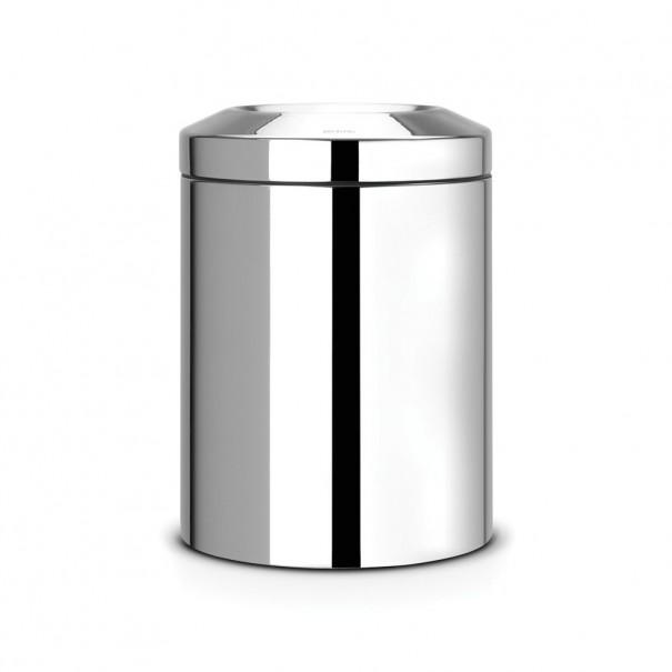 Brabantia Κάδος για χαρτιά brilliant steel 7 lt