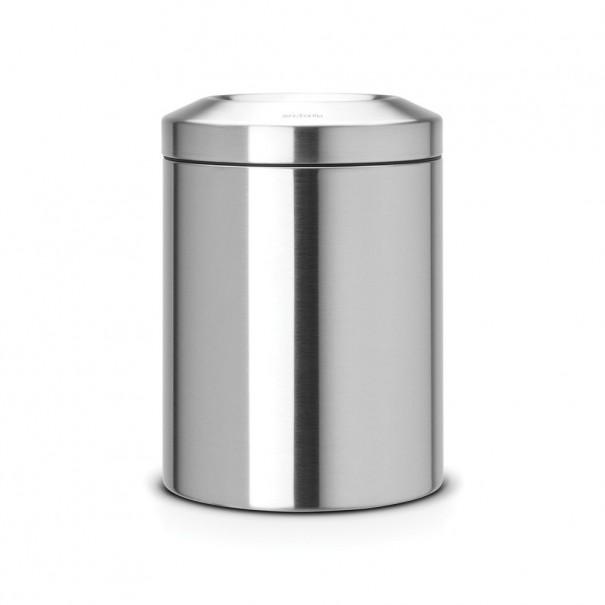 Brabantia Κάδος για χαρτιά matt steel 7 lt