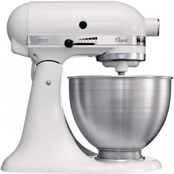 Kitchenaid Μίξερ classic λευκό 4,3 lt