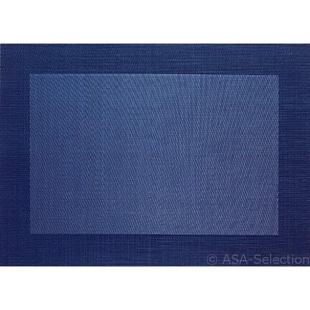 Asa Σουπλά pvc χρώμα σκούρο μπλε 33x47 cm