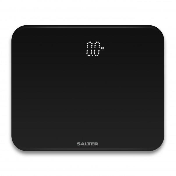 Salter Ηλεκτρονική ζυγαριά μπάνιου ghost compact μαύρη