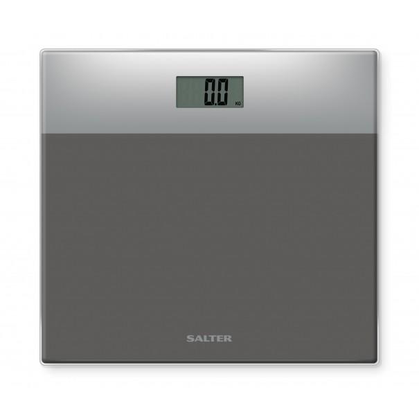 Salter Ηλεκτρονική ζυγαριά γυάλινη-ασημί/ασημί