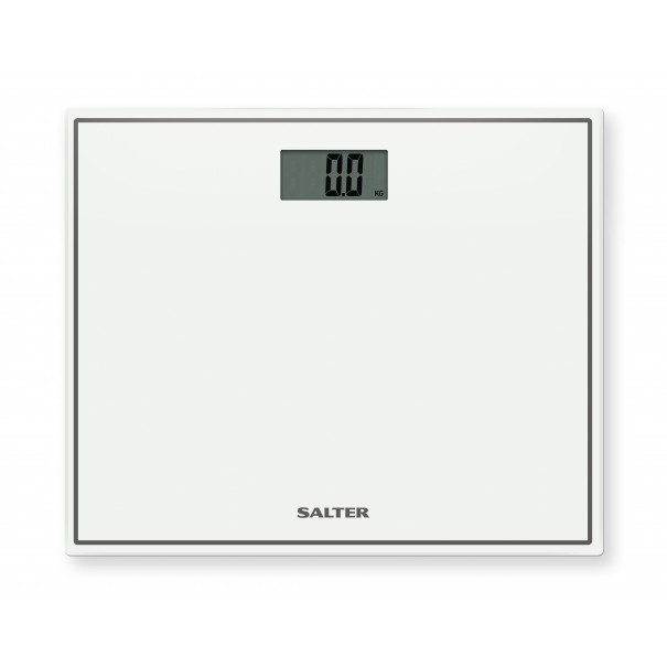 Salter Ηλεκτρονική ζυγαριά μπάνιου compact λευκή